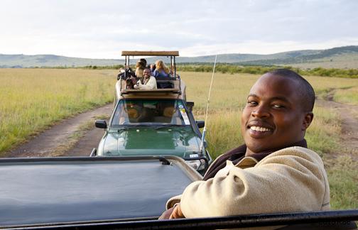 Guides in Mara