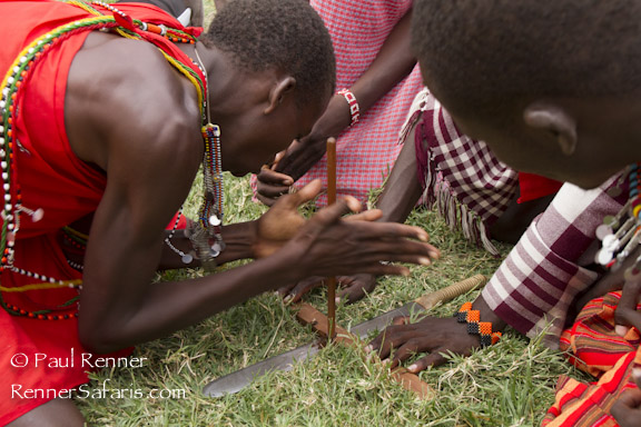 Masai Making Fire-5022