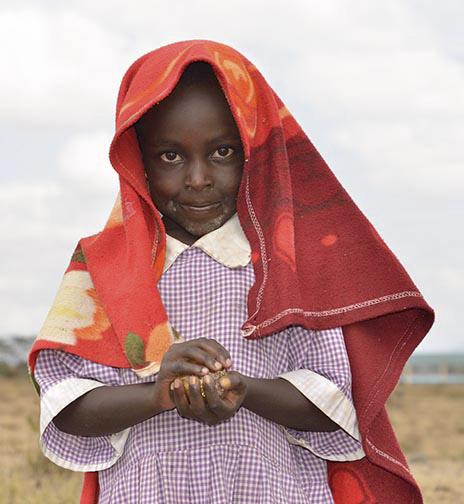 Maasai Child-