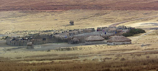 Maasai Village-