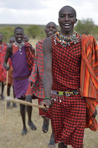 Masai Dancers-