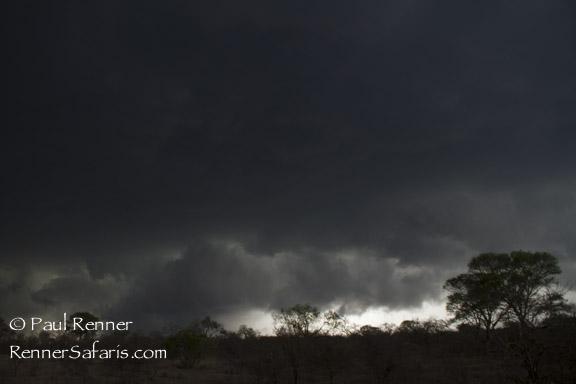 Evening Lightning and Thunder Storm-2928