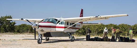 Cessna Caravan in Botswana-3613