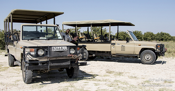 Toyota Safari Vehicles used in Botswana-3616