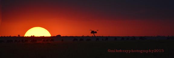 Sunrise, Masai Mara 2c