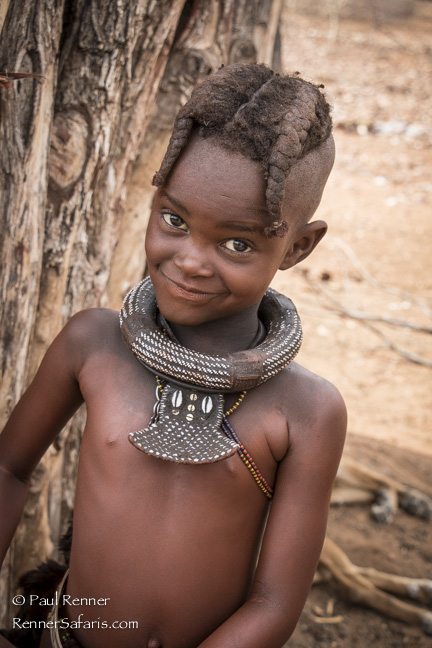 Himba Child, Namibia-9763