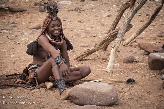 Himba Woman, Namibia-9657