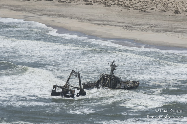 Shipwreck on Skeleton Coast, Namibia-2713